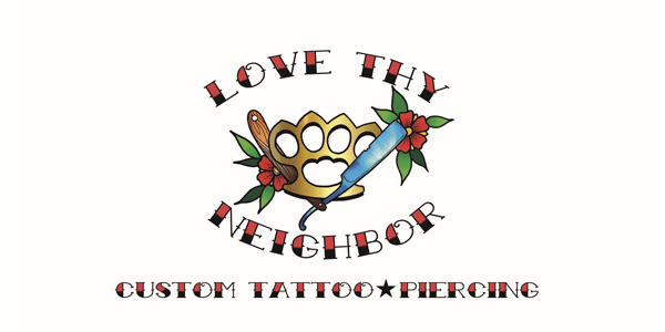 Love Thy Neighbor Tattoo NO